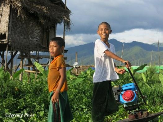 Boys of Inle Lake, Myanmar