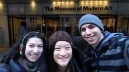 Free MOMA trip after a couple with a membership randomly let us in for free! #beliefinhumanity
