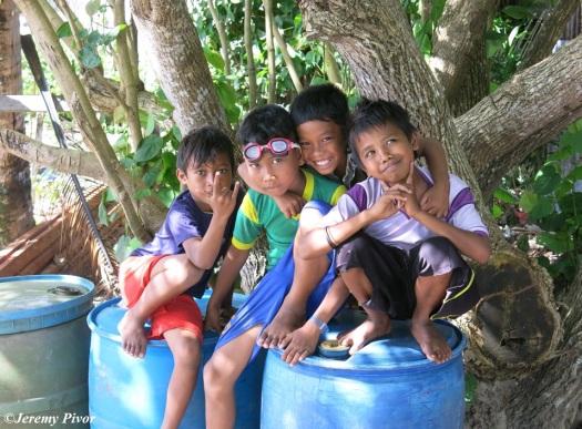 Kids in Banda